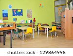 kindergarten preschool... | Shutterstock . vector #129864998