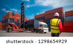 foreman control loading... | Shutterstock . vector #1298654929
