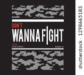 army fight message typography ...   Shutterstock .eps vector #1298665183
