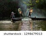 Vietnamese Fishermen Throw A...