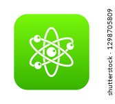 atom with electrons icon... | Shutterstock . vector #1298705809