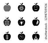 tracing icons set. simple set... | Shutterstock . vector #1298705926