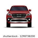realistic car. truck  pickup....   Shutterstock .eps vector #1298738200