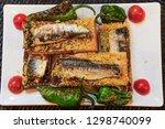 lisbon  portugal traditional...   Shutterstock . vector #1298740099