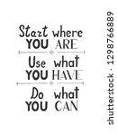 hand drawn vector lettering...   Shutterstock .eps vector #1298766889