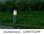Lawn Light With A Little Yello...
