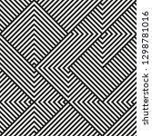 vector seamless geometric... | Shutterstock .eps vector #1298781016