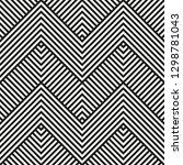 vector seamless geometric...   Shutterstock .eps vector #1298781043