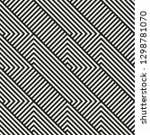 vector seamless geometric... | Shutterstock .eps vector #1298781070