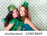 Pretty Irish Women In Green And ...