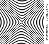hypnos circles concentric.... | Shutterstock .eps vector #1298795749