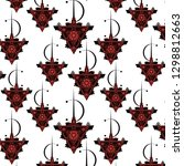 berber jewellery symbol pattern ... | Shutterstock .eps vector #1298812663