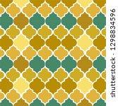 mediterranean tile illustration ... | Shutterstock .eps vector #1298834596