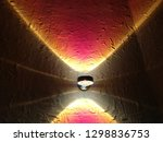 close up photo of sconce on... | Shutterstock . vector #1298836753