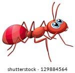Illustration Of A Big Ant...