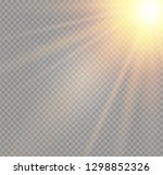 white glowing light burst...   Shutterstock .eps vector #1298852326