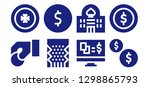bet icon set. 8 filled bet... | Shutterstock .eps vector #1298865793