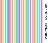 Rainbow Stripes Seamless...