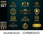 great luxury set  royal and... | Shutterstock .eps vector #1298882023