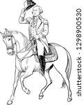 george washington  1732 1799 ...   Shutterstock .eps vector #1298900530