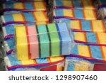 sponges  cleansing. shop ... | Shutterstock . vector #1298907460