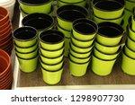 flower pot. shop  supermarket ... | Shutterstock . vector #1298907730