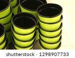 flower pot. shop  supermarket ... | Shutterstock . vector #1298907733