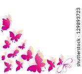 Stock vector butterflies design 129893723