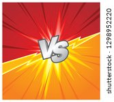 battle  duel or fighting...   Shutterstock .eps vector #1298952220