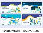 illustration of education ... | Shutterstock .eps vector #1298978689