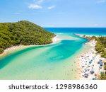 tallebudgera creek on a sunny... | Shutterstock . vector #1298986360