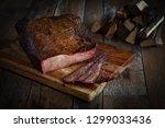 bbq  smoked... | Shutterstock . vector #1299033436