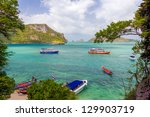 seascape at ang thong national... | Shutterstock . vector #129903719