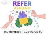 social media concept. refer... | Shutterstock .eps vector #1299073150