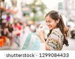 lifestyle shopping concept ... | Shutterstock . vector #1299084433