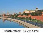 moscow kremlin | Shutterstock . vector #129916193