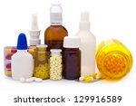 Composition Of Medicine Bottles ...