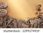 animal print fashion...   Shutterstock . vector #1299174919