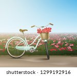 vector realistic city female... | Shutterstock .eps vector #1299192916