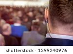security on public event.... | Shutterstock . vector #1299240976