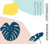 creative abstract universal...   Shutterstock .eps vector #1299260653