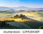 san quirico d'orcia  siena... | Shutterstock . vector #1299284389