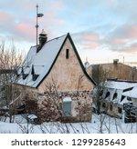 burger manor complex of ancient ... | Shutterstock . vector #1299285643