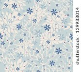 seamless pattern with beautiful ... | Shutterstock .eps vector #129933014