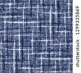 grunge checked melange textured ... | Shutterstock . vector #1299335869