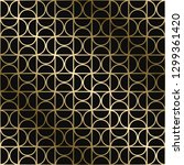 vector geometric stylish art...   Shutterstock .eps vector #1299361420