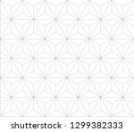 vector seamless geometric... | Shutterstock .eps vector #1299382333