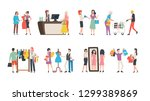 old collection sale  fashion... | Shutterstock .eps vector #1299389869