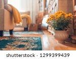moody home interior elegant... | Shutterstock . vector #1299399439