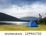 camping in the wilderness | Shutterstock . vector #129941720